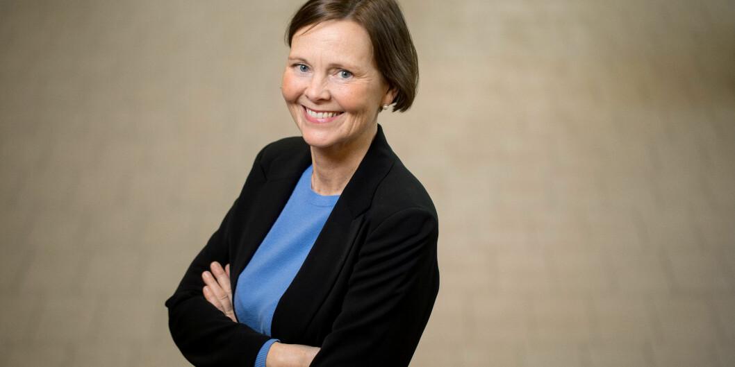 Helsedekan, Randi Skår, på Høgskulen på Vestlandet. Foto: Eivind Senneset