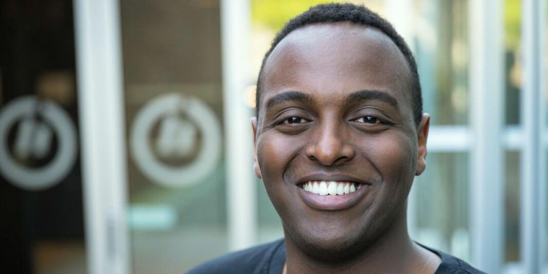 Fahad Said ønsker å bli internasjonalt ansvarlig i Norsk studentorganisasjon.