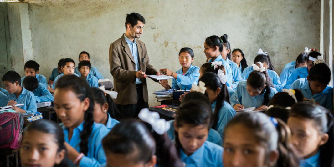 Et av Norhed-prosjektene i forrige runde handlet om å gi lærere i Nepal nettbasert master i samarbeid med Kathmandu University.