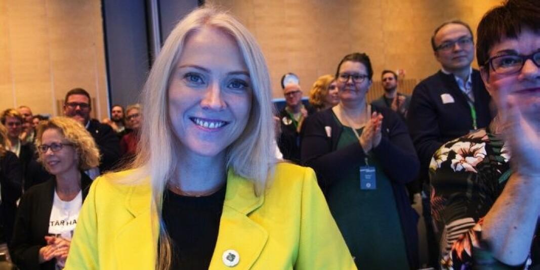 Leder i Norsk Sykepleierforbund, Lill Sverresdatter Larsen ber Universitetet i Oslo om å snu i saken om sykepleiemaster.