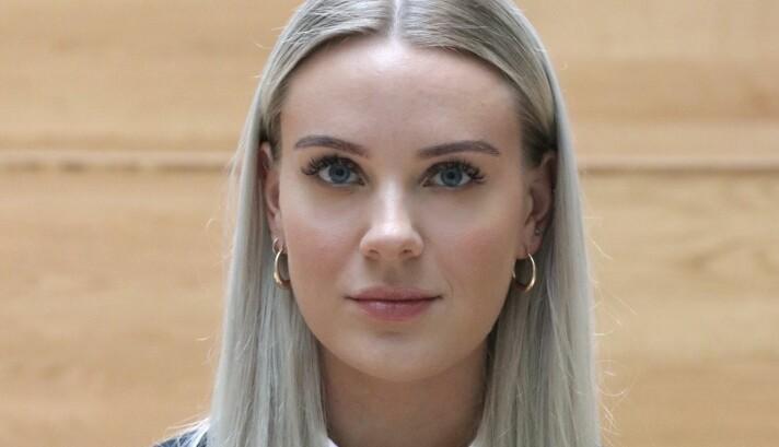 Student Ida Andersen (23).