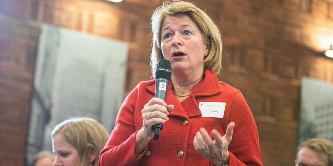 Rektor ved UiT Norges arktiske universitet, Anne Husebekk, stemte for at universitetet heretter skal ha ansatt og ikke valgt rektor.