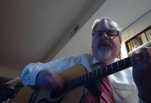 Michaels sang om å overleve digital undervisning er sett to millioner ganger