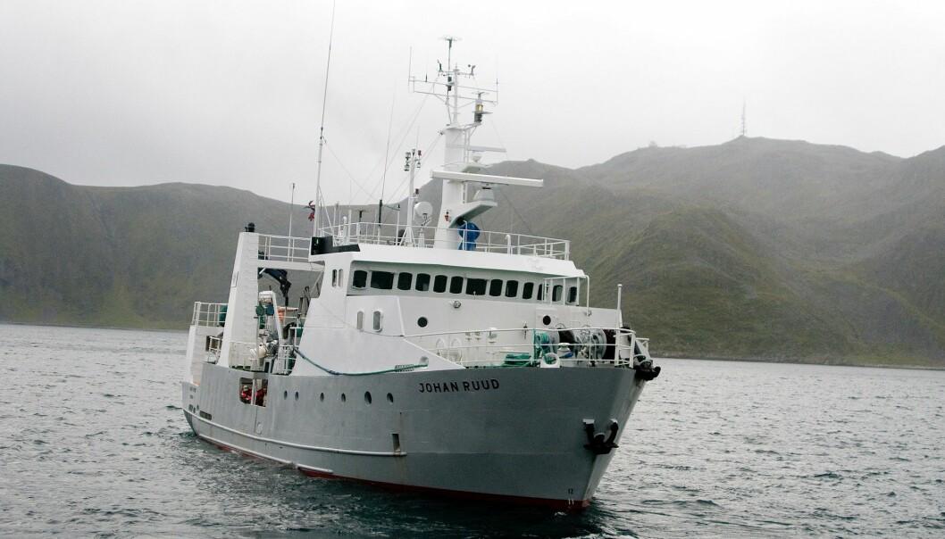 Rogdo trebåtforening, med Leif Einar Lothe i spissen, har kjøpt dette forksningsskipet fra UiT - Norges arktiske universitet. Til sommeren kan det bli tur rundt Nordpolen for det solide stålskipet. Bildet brukes med tillatelse fra NRK. Foto: Edmund Grønmo (NRK)