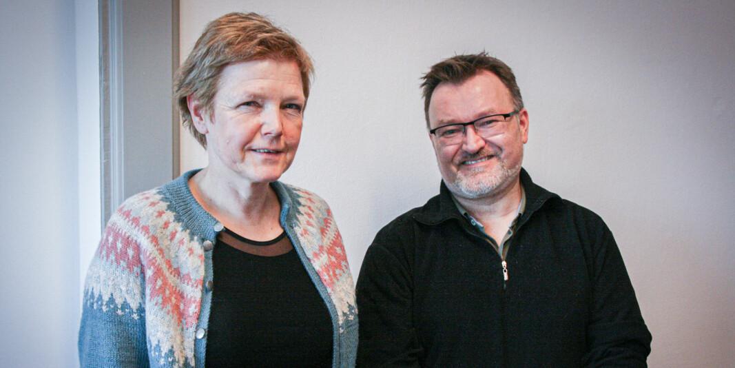 Dekan ved Fakultet for samfunns- og utdanningsvitskap, Marit Reitan, og professor Geir Øien leier to sentrale utviklingsprosjekt ved Noregs største universitet, NTNU.