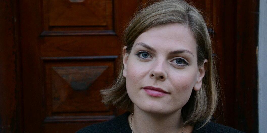 Amanda Schei skal jobbe i fast journaliststilling for Khrono fra Bergen. Foto: Privat