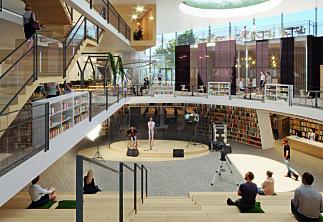 Har vedtatt plasseringen for den nye NLA-campusen