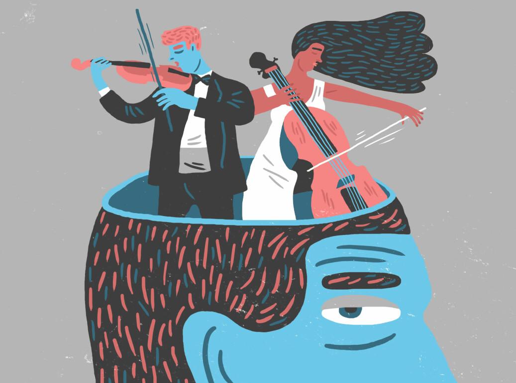Musikk er bra for deg, for nokon er det også til hjelp i jobbinga. Forskarane forstår berre ikkje heilt korleis.