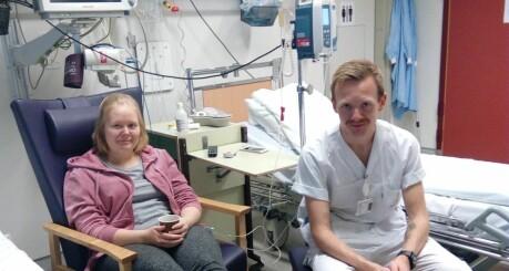 Då søstera blei kreftsjuk, måtte Bjørnar (27) trø til som stamcelledonor