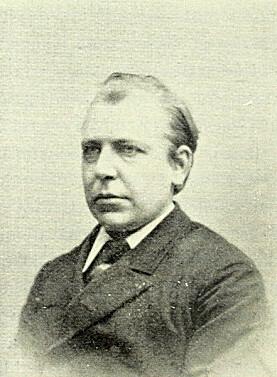 Portrett av Thomas Christian Thomassen (1849-1897), hentet fra jubileumsboka til Bergens Museum fra 1925.