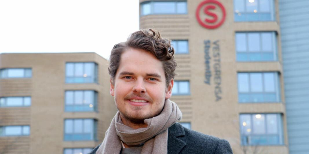 — Mange studenter har brått mistet den sosiale arenaen sin og nevner ensomhet som en viktig utfordring, sier styreleder i SiO, Jonas Virtanen.