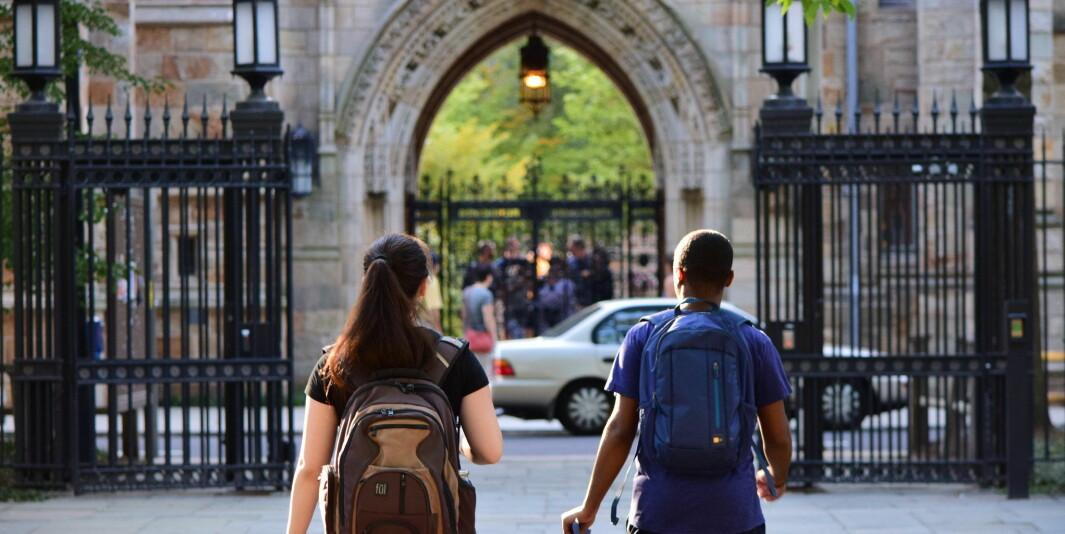 Her ved Yale University startet studentbevegelsen for «universal pass».