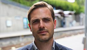 Postdoktor Kristian Bjørkdahl sitter nå som representant for de midlertidig, vitenskaplig ansatte. Han stiller ikke til gjenvalg.