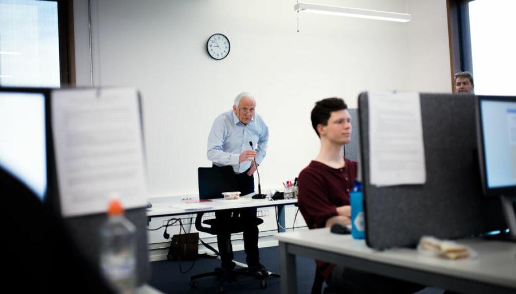 Det ligger en fare i at digitale læringsformer kan oppfattes som best fordi de potensielt er billigst, skriver Jon Arne Løkke og Jan Storø. Arkivfoto: Henriette Dæhlie