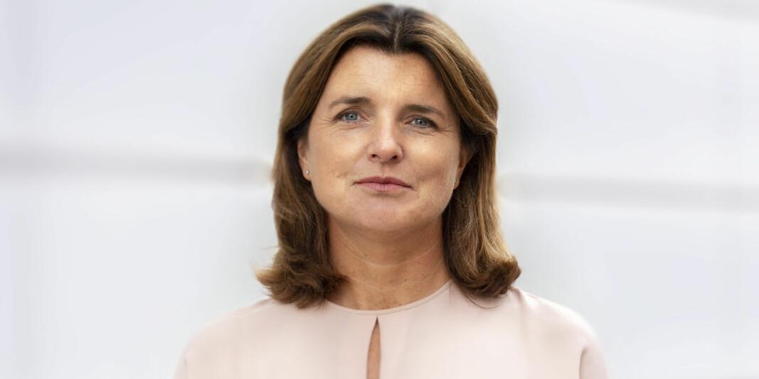 Administrerende direktør i Lånekassen, Nina Schanke Funnemark, varsler om historisk lave fastrentesatser.