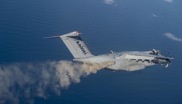 Airbus gikk med på å slippe et tonn aske i et vellykket eksperiment. Men askeslippet ble også Nicarnica Aviations siste store eksperiment.