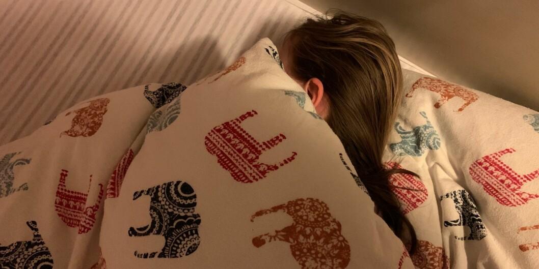 Mange studenter oppgir at de sover til klokken 11-12 om dagen.