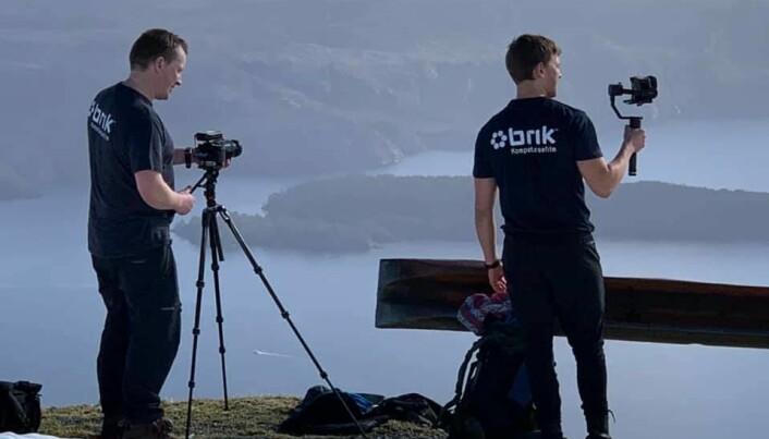 Hvordan ble Vestlandet til? Det er noe av det studentene får svar på gjennom videoen som nå er laget.