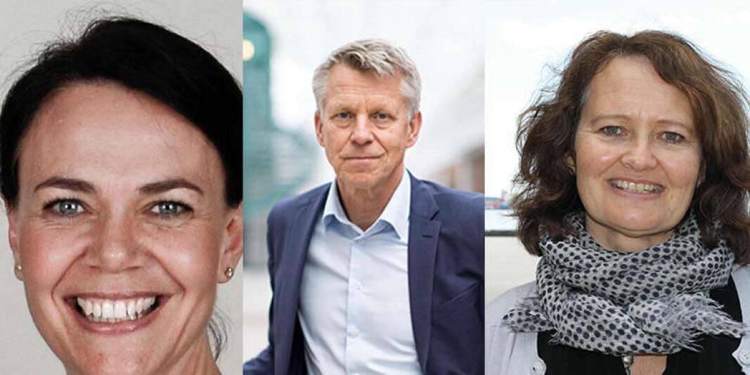 Heidi Kristin Ormstad, Kristian Bogen og Ingvild Marheim Larsen har blitt tilbudt tre topplederstillinger ved USN.