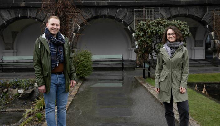 Både Erlend Grønvold og Anni Rambek skal bli lektorer. Nå stiller de til valg til universitetstyret.