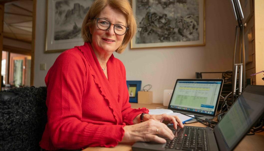 Rektor Anne Husebekk har lagt fram store ambisjoner for UiT når det gjelder å hente inn mer forskningsmidler fra EU.