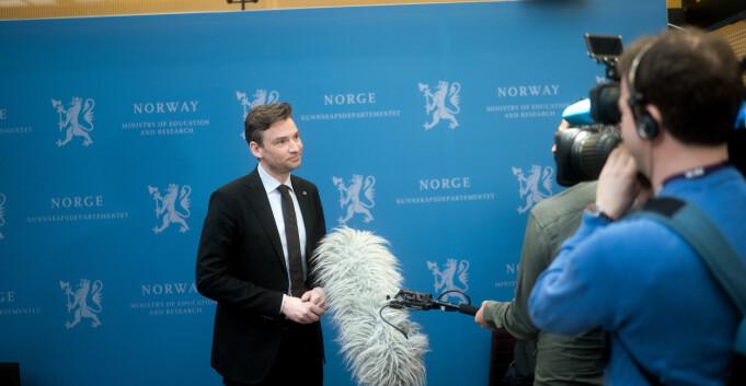Ny UH-lov i dag: Nytt utvalg skal vurdere akademisk frihet