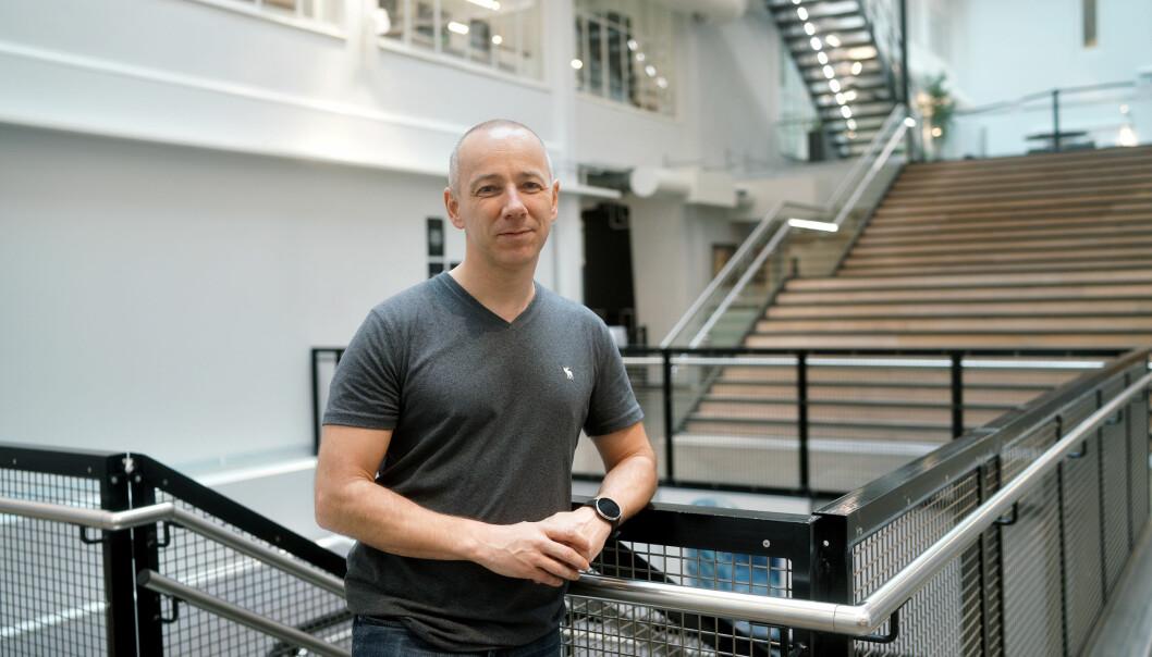 Pål E. Wæraas er drifts- og sikkerhetssjef på Høyskolen Kristiania.