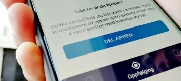 FHI om smitte-app: Mener det er lett å være etterpåklok