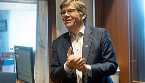 Rektor Svein Stølen ser for seg å ønske omtrent 450 nye studenter og stipendiater velkommen til høsten.