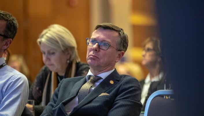 Styreleder i Unversitets- og høgskolerådet, Dag Rune Olsen.