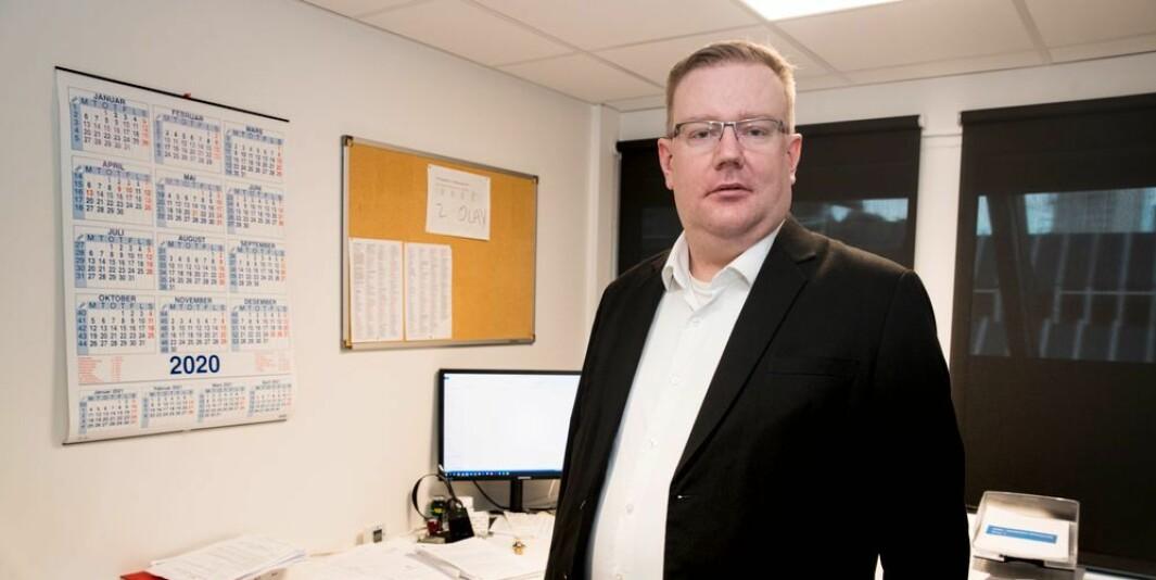Advokat Olav Lægreid mener jusstudiet krever at man leser enorme mengder tekst, og manglende språkbeherskelse kan prege studieløpet.