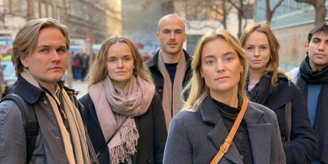 Markus Lien, Malin Moland, Vetle Opaas, Heidi Sundby, Julie Daae og Tomas Larsen, som Khrono møtte i Budapest, er fem av de norske studentene som går ved ELTE i dag og som kjemper for å få godkjent utdanningen.