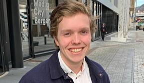 Gard Skulstad Johanson gleder seg over å være gjenvalgt til universitetsstyret.