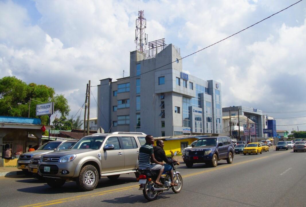 I dette bygget havner all post som sendes til selskaper som Rock Dove Holdings Limited