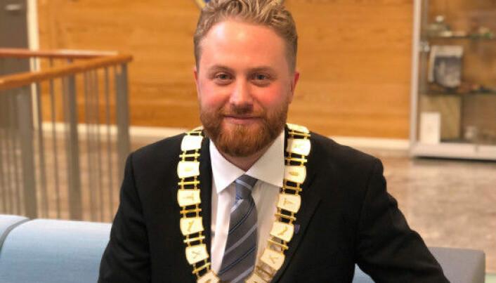 Ordfører Eyvind Jørgensen Schumacher