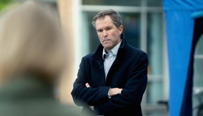 John-Arne Røttingen, adm. dir. i Forskningsrådet, sier de har gjort endringer på malene etter ønsker fra søkerne.