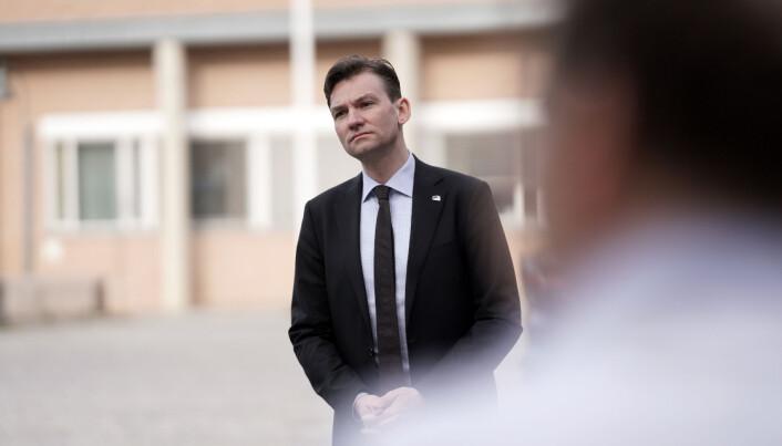 Henrik Asheim, forskning- og høyere utdanningsminister for Høyre.