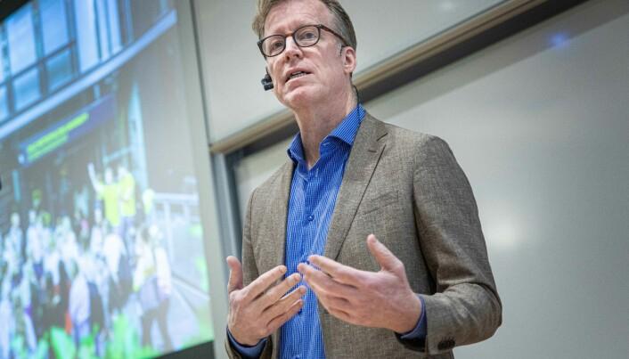 Curt Rice sier han ikke vil takke nei til penger til å bygge ny campus Romerike.
