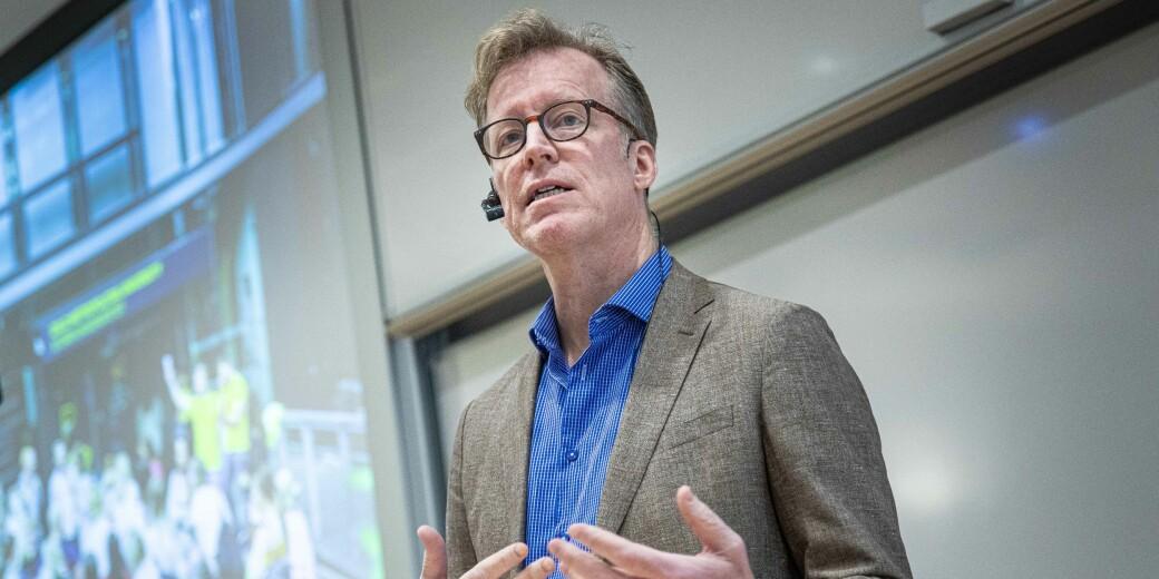Rektor Curt Rice ved OsloMet håper forslaget kan bidra til debatt.