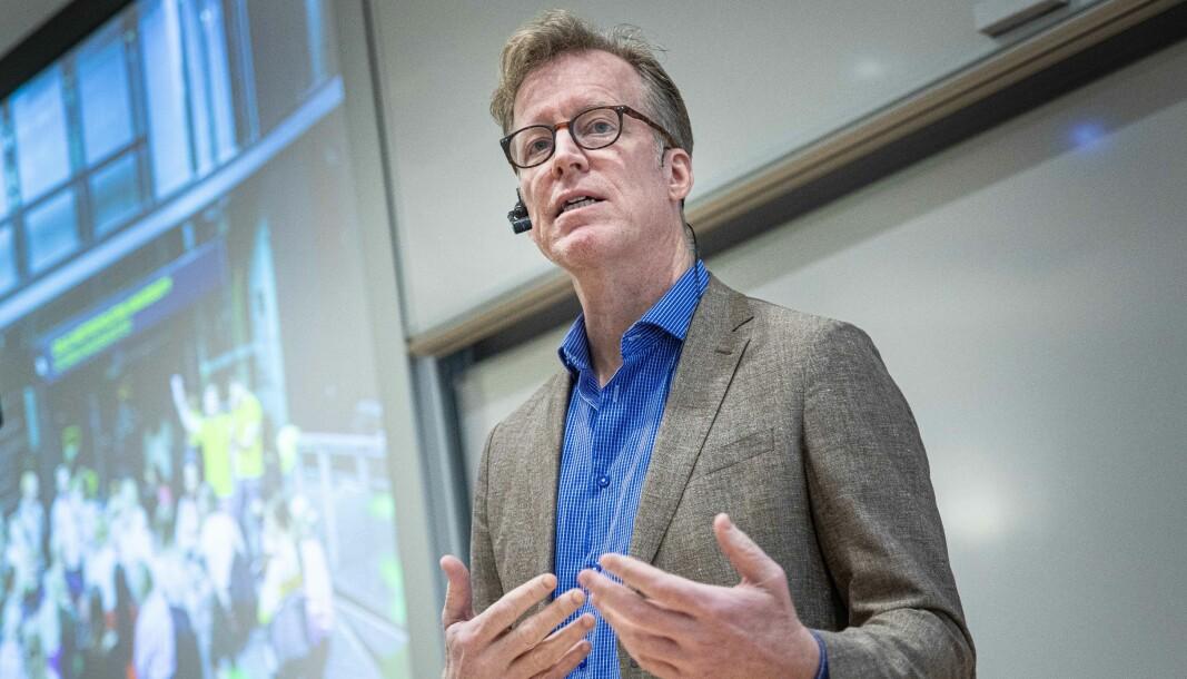 Rektor ved NMBU, Curt Rice, forventer at den nye regjeringen satser på samarbeid mellom norske kunnskapsmiljøer og næringsliv.