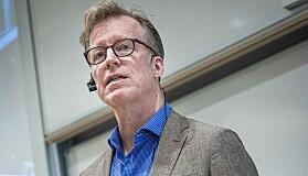 Oslo 2020-01-23- Allmøte på OsloMet avdeling Kjeller angående flytting eller ikke. Curt Rice styrer møtet. Foto: Siri Øverland Eriksen