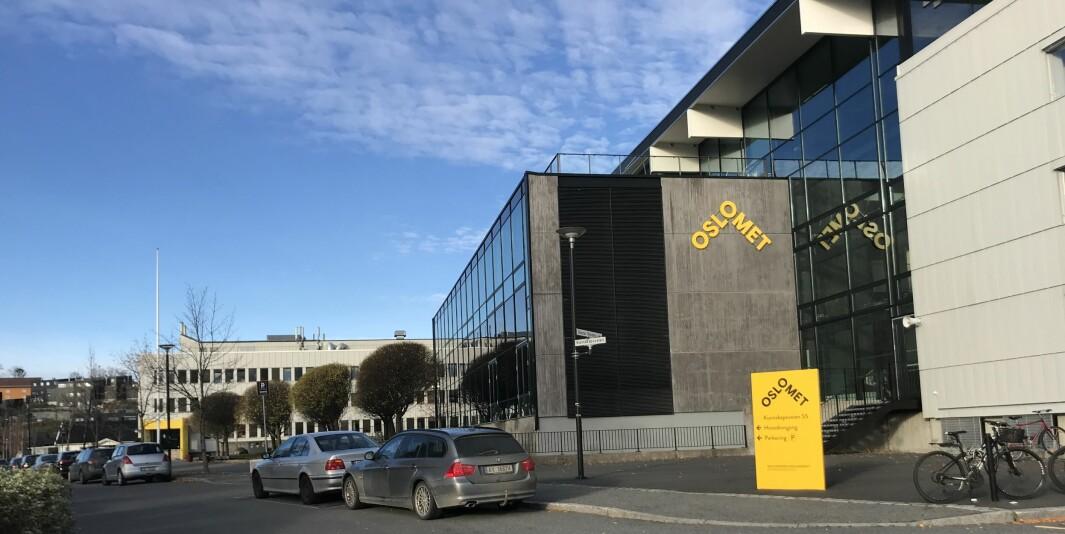 OsloMet skal forlate disse byggene på kjeller innen tre år.