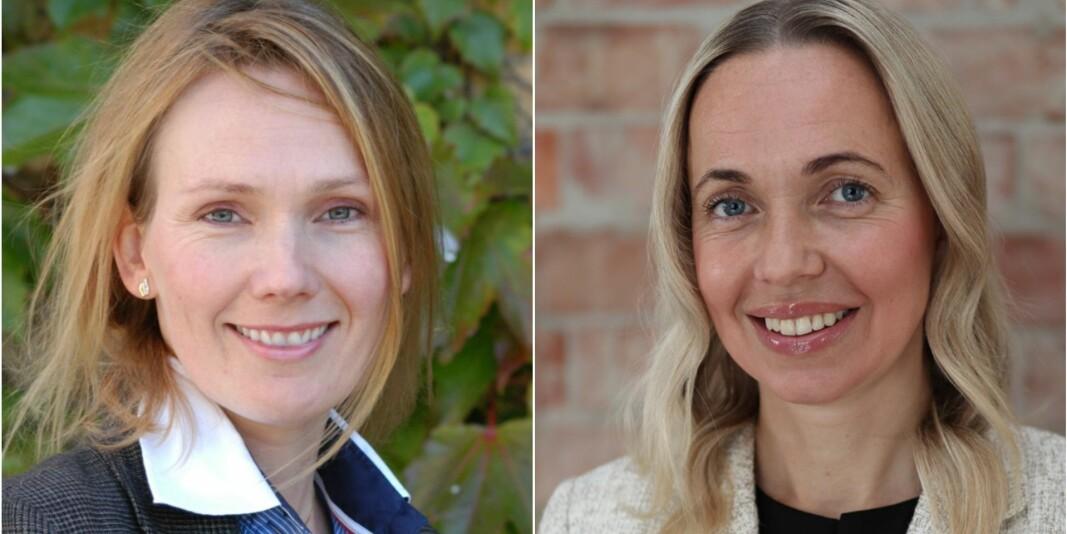 Helene Lund (t.v.) og Gunhild Odden er VID vitenskapelige høgskoles nye prorektorer.