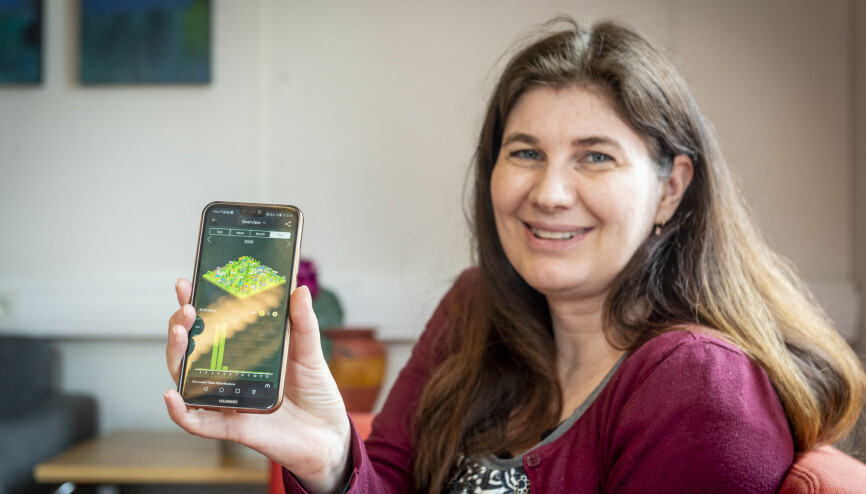 I heimekontortida har Kari Hagatun brukt ein app for mobil som er til god hjelp for å halde henne unna mobil, og i staden fokusere systematisk på arbeidet.