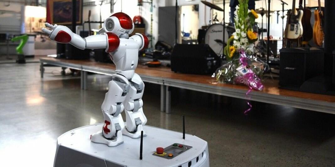 Universitetet i Agders campus i Grimstad har en egen robot-lab. Nå vil universitetet også kjøpe inn en cobot til e-helsesatsingen sin..