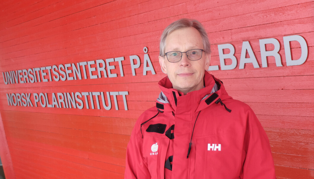 Jøran Moen fikk en mildt sagt spesiell start på karrieren som UNIS-direktør da han tiltrådte 1. mars, men er ved godt mot tross de utfordrende omstendighetene.