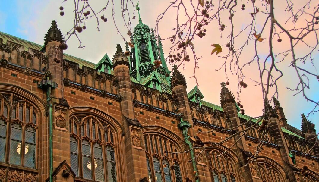 Australske universiteter frykter store tap som følge av Covid-19. Bildet er fra University of Sydney.