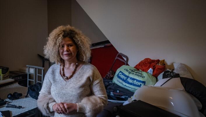 Malka Al-Haddad har forlatt Irak til fordel for Storbritannia. Nå bor hun i et kollektiv med kvinnelige asylsøkere.