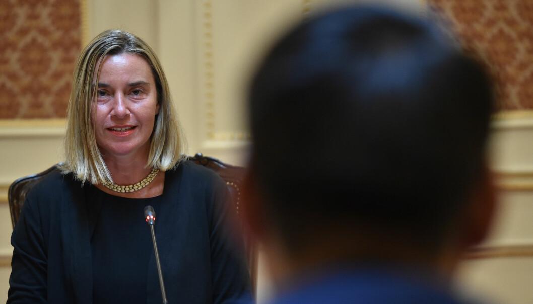 EUs tidligere utenrikssjef Federica Mogherini blir trolig ny rektor for Europa-colleget.