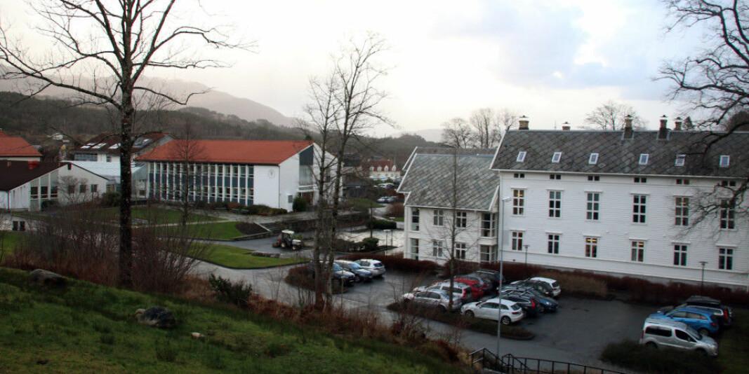 Høgskulen på Vestlandets campus på Stord er en av dem som får penger til oppgradering av lokaler.